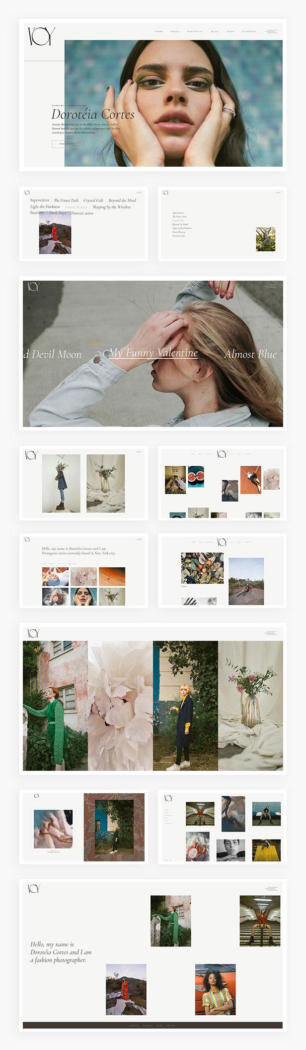 Me Voy - Photography Portfolio Theme - 1